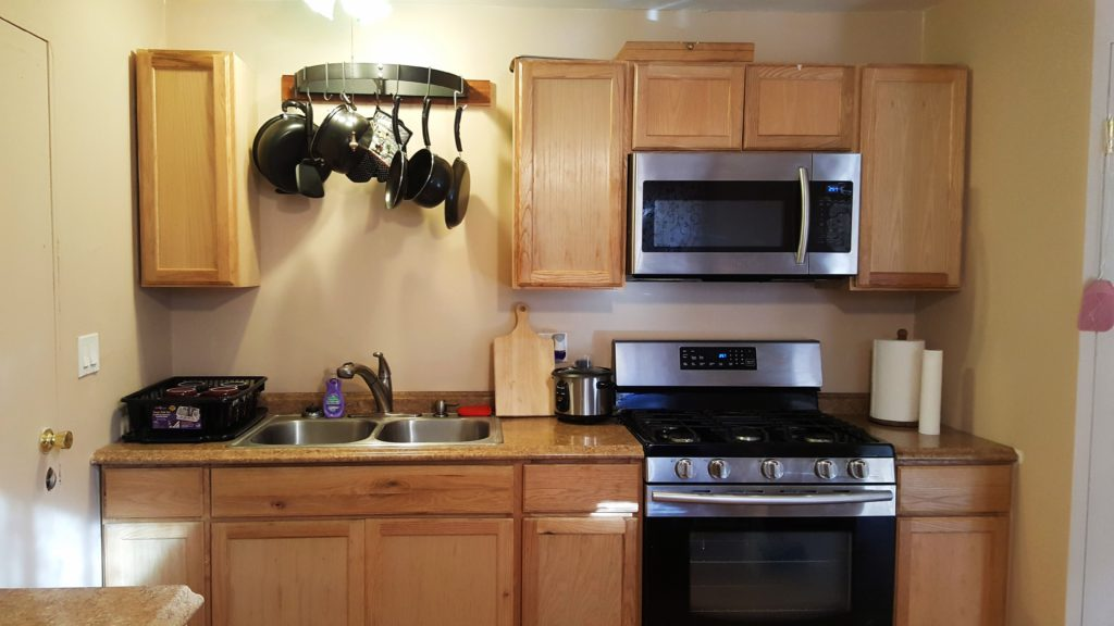 Microwave, Oven & Stove